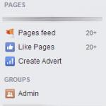 Oui, j'ai facebook en anglais, ça va !